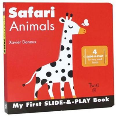 Safari Animals 非洲動物 硬頁推拉書