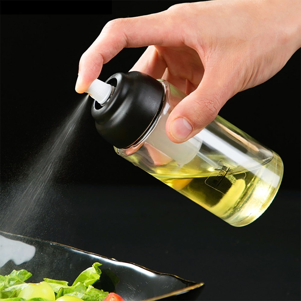 氣炸鍋好幫手日式氣壓噴霧式烘培料理噴油瓶