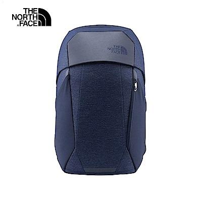 The North Face北面男女款藍色舒適防護休閒後背包|3KUR7HJ