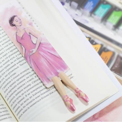 myBookmark手工書籤-優雅的芭蕾舞女伶