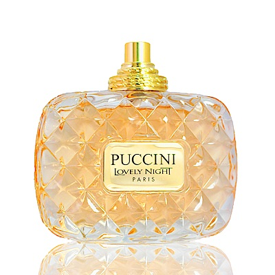 Puccini璀璨琉金女性淡香精100ml Tester【無盒無蓋有噴頭】