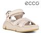 ECCO CHUNKY SANDAL 潮趣增高休閒時尚涼鞋 女鞋 石灰色 product thumbnail 1