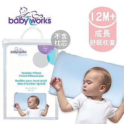 BabyWorks 加拿大 幼兒枕頭套-藍色 (12個月以上)