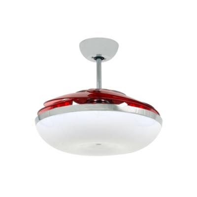 VENTO芬朵 46吋燈扇 MELA蘋果系列 透紅葉片 不含安裝