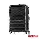 AT美國旅行者 25吋HS MV+ Deluxe時尚硬殼飛機輪TSA登機箱(幾何黑)