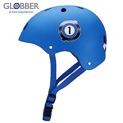 GLOBBER哥輪步 兒童戶外活動防護安全帽-賽車藍