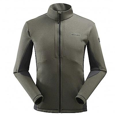 法國【EiDER】男POLARTEC保暖外套橄欖綠