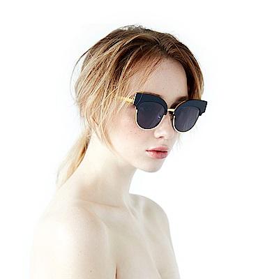 BVH 拼接類貓眼設計款太陽眼鏡
