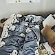 絲薇諾 胖達 加大四件式-法蘭絨 抗靜電鋪棉床包被套組 product thumbnail 1