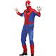 角色扮演 蜘蛛人 英雄系萬聖節派對表演服(藍紅F) AngelHoney天使霓裳 product thumbnail 1