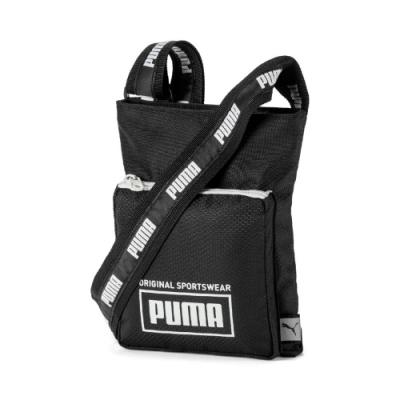 PUMA Sole側背包-黑-07692601