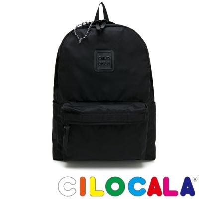 CILOCALA 限量版-亮彩尼龍防潑水BLACKY後背包(大)