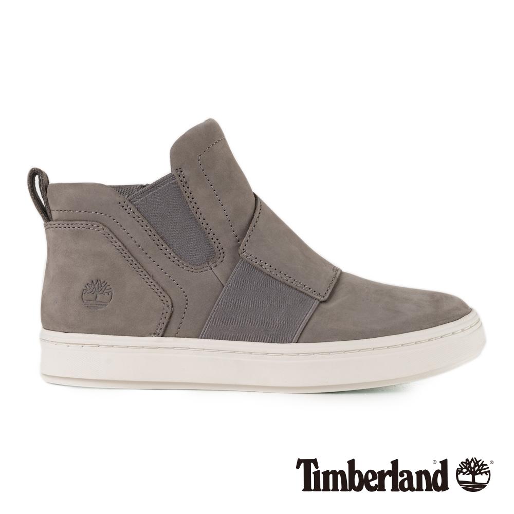 Timberland 女款灰色正絨面皮革 Londyn 休閒鞋 A1S3R @ Y!購物