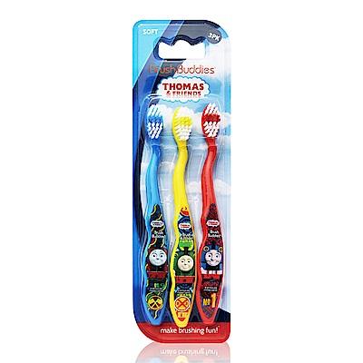 美國 Thomas&Friends 3入牙刷(軟毛/適5歲以上)