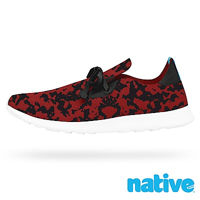 native APOLLO MOC 男/女鞋-紅色墨點迷情印花