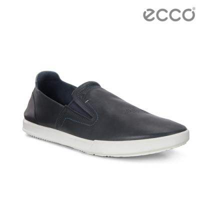 ECCO COLLIN 2.0 個性簡約套入式休閒鞋 男-黑