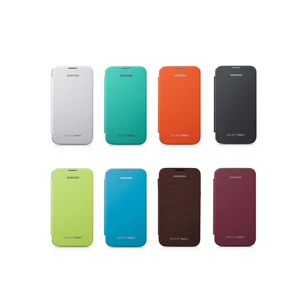 SAMSUNG 三星 Galaxy Note2 N7100 原廠 書本式側掀皮套
