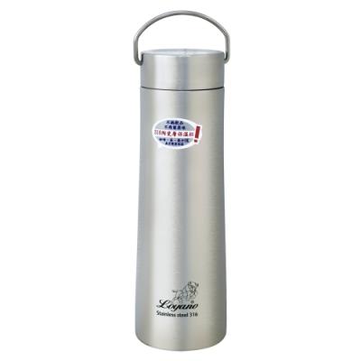 LOYANO羅亞諾 316陶瓷層保溫瓶杯700ml(白鐵色) LY-075