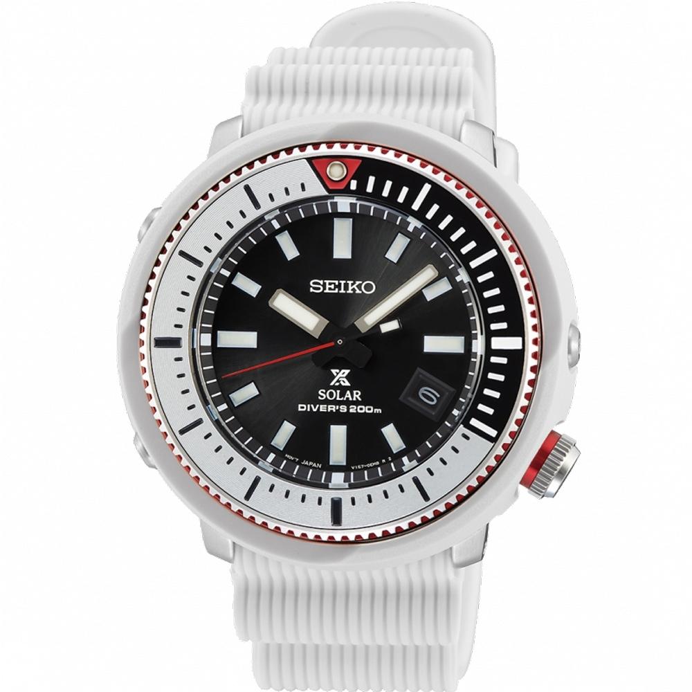 SEIKO PROSPEX 光之潛行者200米潛水錶(SNE545P1) V157-0DE0W