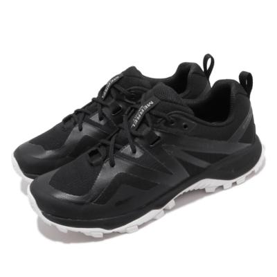 Merrell 戶外鞋 MQM Flex 2 GTX 男鞋 登山 越野 耐磨 抓地 防潑水 包覆 穩定 黑白 ML034229