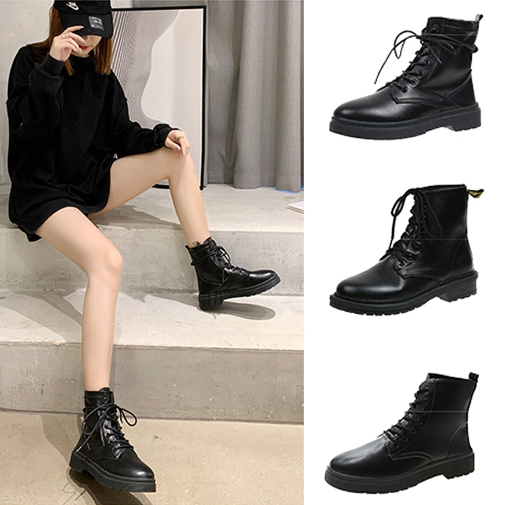 韓國KW美鞋館-獨家活動品-歐美休閒馬靴系列(共8款可選)