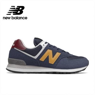 [New Balance]復古運動鞋_中性_深藍色_ML574HW2-D楦