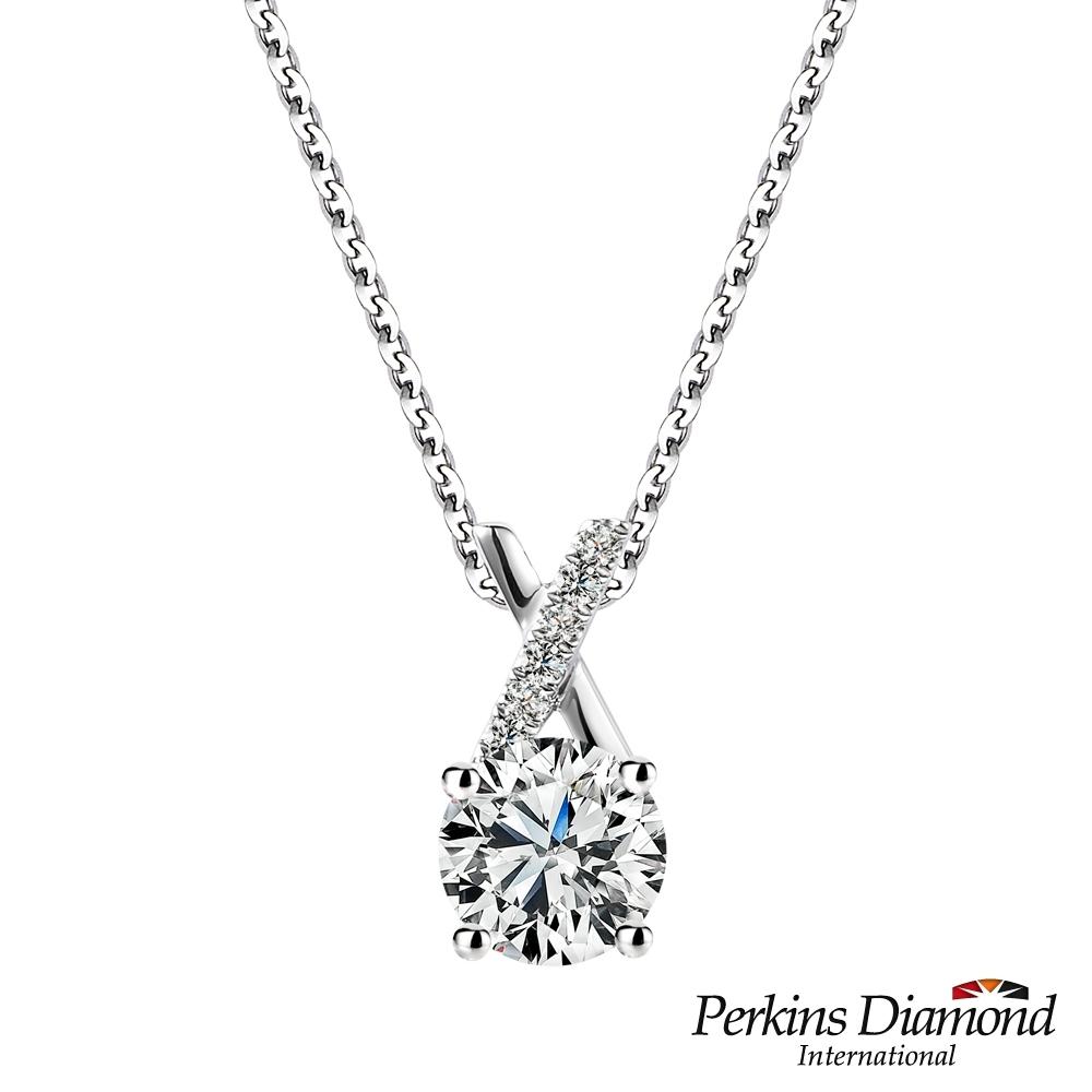 PERKINS 伯金仕 - GIA X Series系列 E/SI2 0.50克拉鑽石項鍊