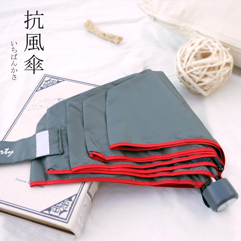 好傘王 吹不壞不透光黑膠瑜珈手開傘3.1版-灰色