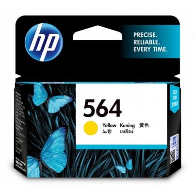HP CB320WA 原廠黃色墨水匣 NO:564