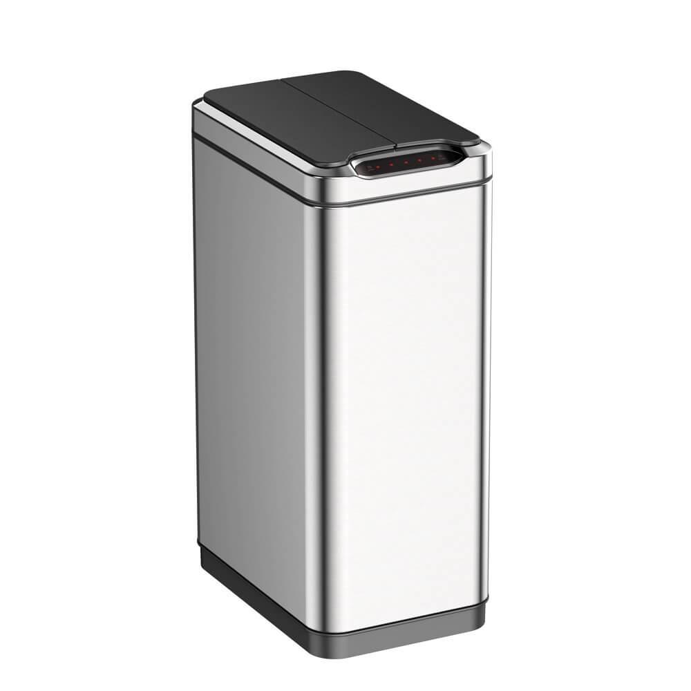 EKO 幻影自動感應不鏽鋼大容量垃圾桶 30L