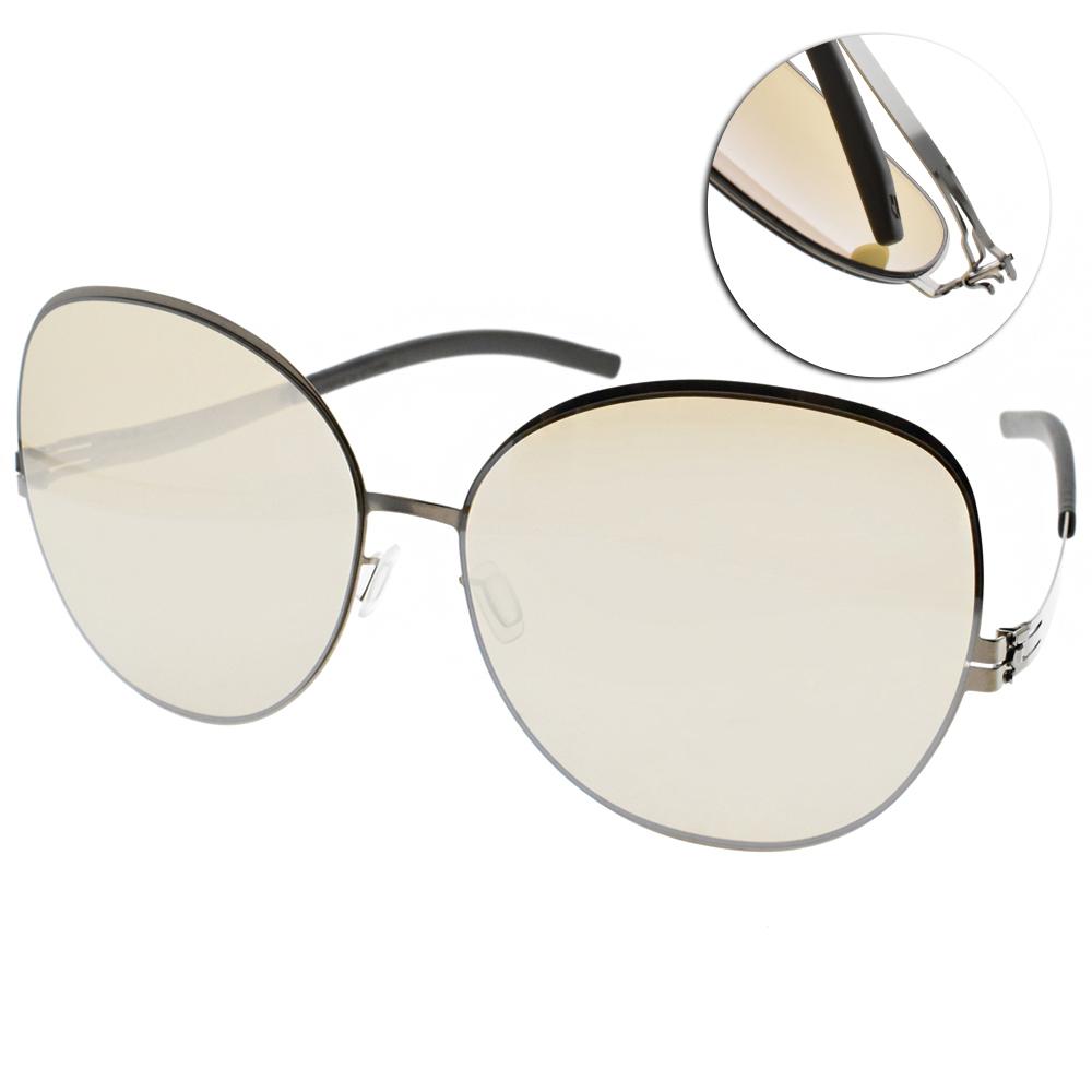 ic!berlin水銀太陽眼鏡 薄鋼/金#VIRGINIA P SHINY BRONZE