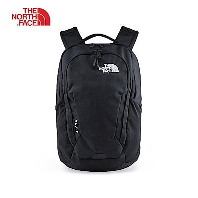 The North Face北面男女款黑色背提包 3KV9JK3
