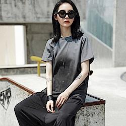 設計所在Style-漸變色中性扎染休閒短袖T恤