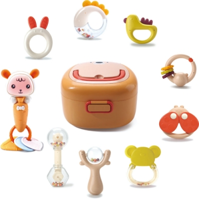CuteStone 兒童可愛造型搖鈴玩具組