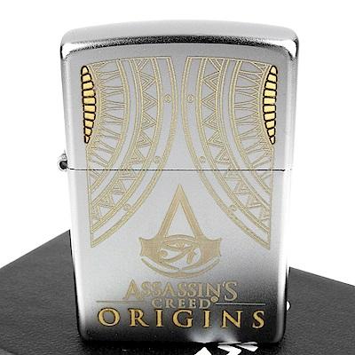 ZIPPO 美系~Assassin s Creed-刺客教條-荷魯斯之眼圖案打火機