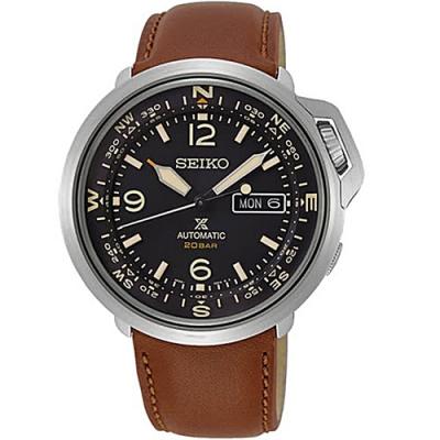 SEIKO精工PROSPEX陸系列機械皮錶-棕色(4R36-07A0J/SRPD31J1)