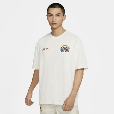 NIKE JORDAN CHINESE NEW YEAR 男 短袖上衣-白-DH9205133