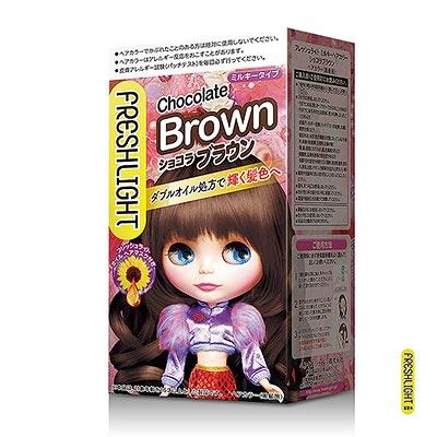 FreshLight 富麗絲染髮系列 巧克力棕