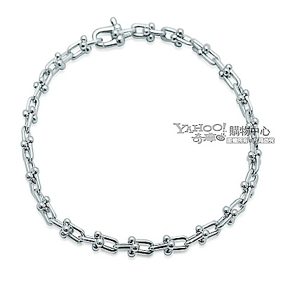 Tiffany&Co. 紐約工業風扣環925純銀手鍊