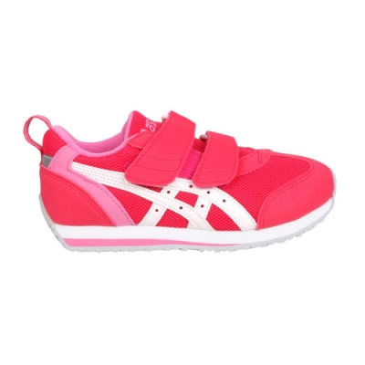 ASICS IDAHO MINI 3 男女小童運動鞋-慢跑 路跑 亞瑟士 TUM186-1901 玫紅白