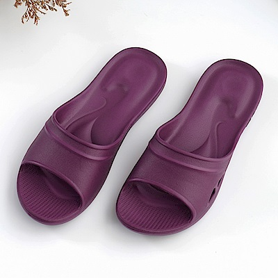 維諾妮卡 嚴選Q彈家居拖鞋-紫色
