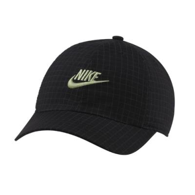 Nike 棒球帽 Kids Heritage86 Cap 童款 遮陽帽 外出 小朋友 網格 黑 綠 DC4049010