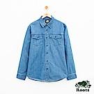 男裝Roots 亨特立利襯衫-藍