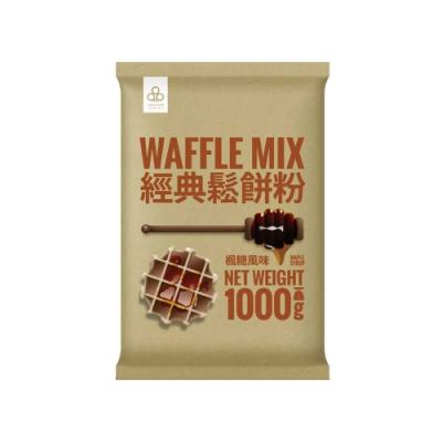 開元食品 楓糖風味鬆餅粉(1000g)