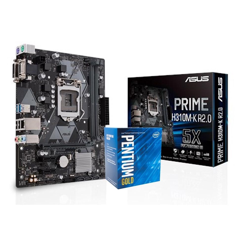 華碩 PRIME H310M-K R2.0 +Intel G5400