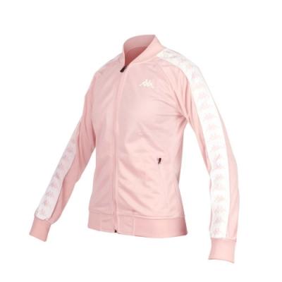 KAPPA 女 運動外套 荳蔻粉白