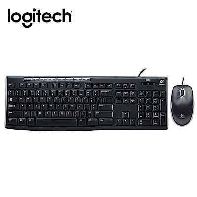 羅技有線鍵盤滑鼠組 MK200