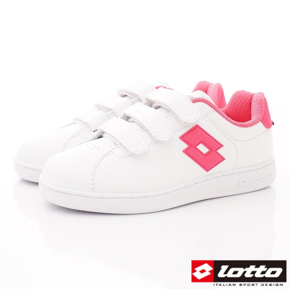 Lotto樂得-1973經典網球鞋款-SI862白桃(女段)