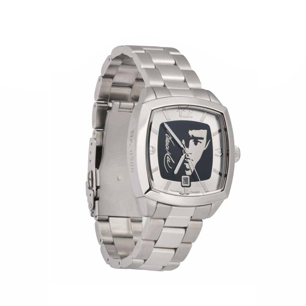 李小龍 BruseLee 龍影限量腕錶 黑色