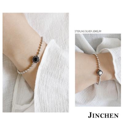 JINCHEN 純銀個性珍珠手鍊